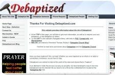 debaptized