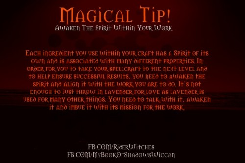 A neat magical tip!